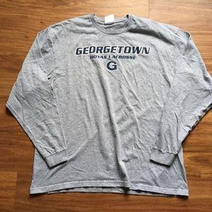 Grey Georgetown Hoyas Nike Long Sleeve